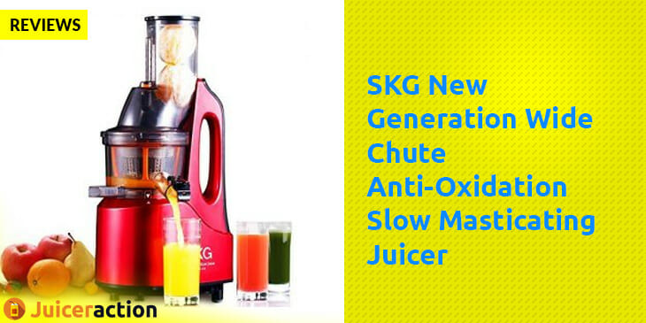 SKG New Generation Wide Chute Anti Oxidation Slow